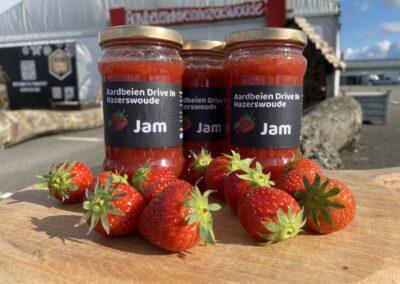 Aardbeien Jam Huisgemaakt