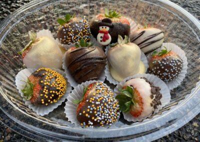 Aardbeien bonbons groot